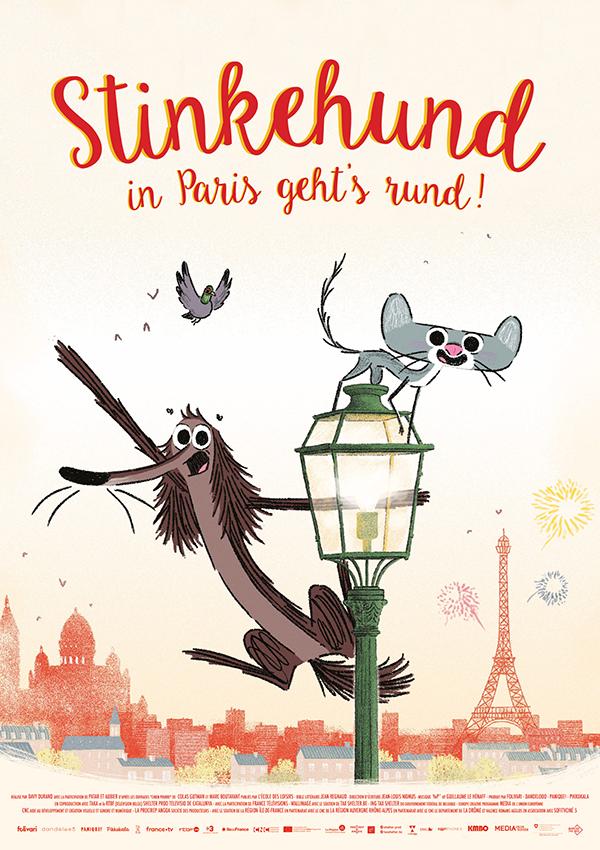 STINKEHUND, IN PARIS GEHT'S RUND!