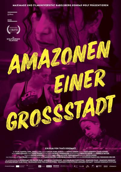 AMAZONEN EINER GROSSSTADT
